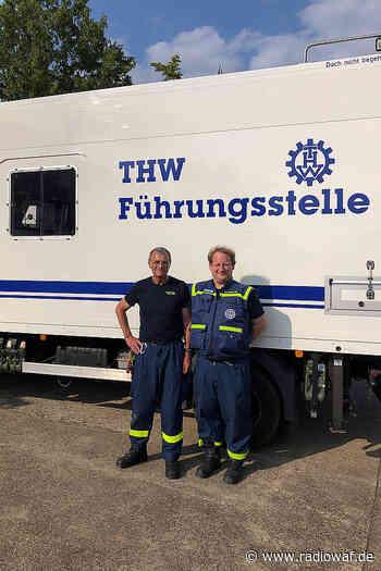 THW Oelde und Warendorf hilft weiter nach Überflutung - Radio WAF