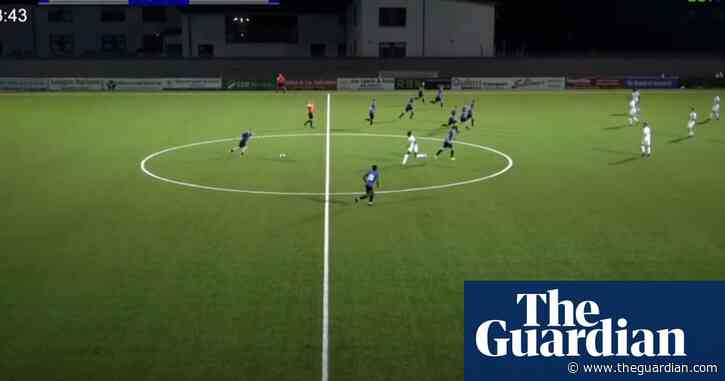 'Absolutely unbelievable': goal from own half scored in 124th minute – video