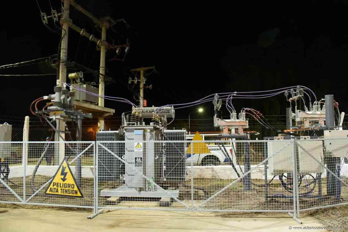 Nuevas obras eléctricas en la Isla Del Cerrito - El Diario de la Región