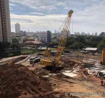 Escavações começam na estação Penha da Linha 2-Verde do Metrô - Via Trolebus