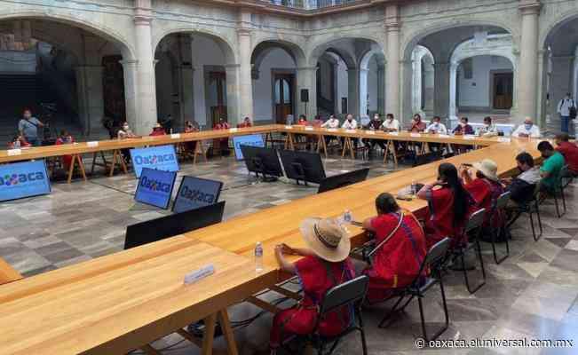 Existen condiciones para retorno seguro a Tierra Blanca de 137 familias triquis desplazadas por la violencia: Murat   Oaxaca - El Universal Oaxaca