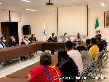 Acuerdan regreso de manifestantes triquis a Tierra Blanca el 25 de julio - Diario Marca de Oaxaca