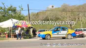22/07/2021 Supervisan el transporte mixto rural - La Voz De Tantoyuca