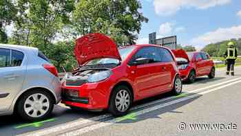 A 45 bei Olpe: Zwei Autofahrer bei Auffahrunfall verletzt - WP News