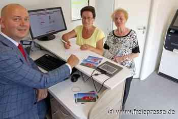 Sparkasse stellt mobile Geschäftsstelle vor - Freie Presse