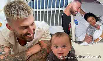 Jake Quickenden says his 5 month old son helped him to cope with the deaths of his dad and brother
