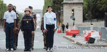 Barentin. Une Barentinoise a défilé sur les Champs Elysées - Le Courrier Cauchois
