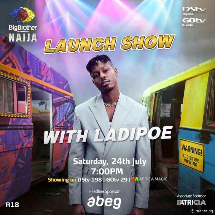 Ladipoe To Perform At Bbnaija Season 6 Launch Show