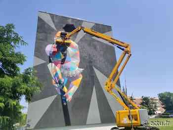 Villeneuve-Saint-Georges. Assistez à la création d'œuvres de street art géantes - actu.fr