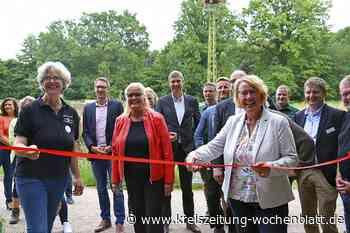 Doras Garten: Niedersachsens Ernährungsministerin eröffnet symbolisch den Mitmachgarten in Karoxbostel - Kreiszeitung Wochenblatt