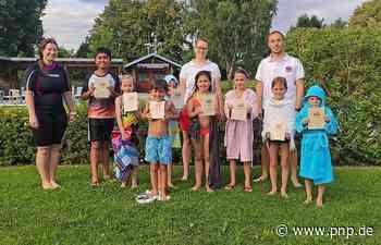 Wasserwacht: 44 Kindern das Schwimmen beigebracht - Arnstorf - Passauer Neue Presse