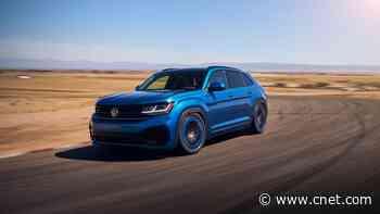 VW Atlas Cross Sport GT Concept has a tuner's edge     - Roadshow