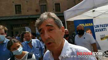 Elezioni 2021. Fabio Battistini in Piazza del Nettuno al gazebo dai partiti del Centrodestra - VIDEO - BolognaToday