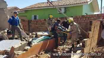 Durante demolição, trabalhador é soterrado por escombros em Pontes e Lacerda | O Bom da Notícia - O Bom da Notícia