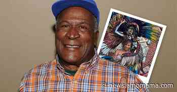 John Amos' Only Daughter Looks Magnetic While Covered with Huge Feathered Wings in Photo - AmoMama