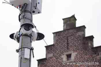 Meeste camera's in centrum Gent weer weg - De Standaard