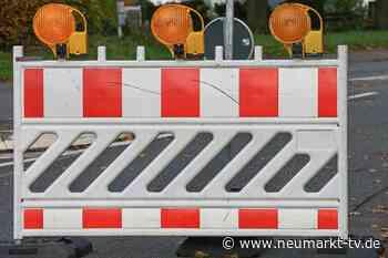 Vollsperrung der Südtangente und der Gredinger Straße in Berching - Neumarkt TV