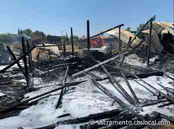 Firefighters Contain Two Barn Fires In Galt