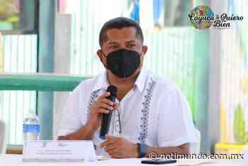 Alberto de los Santos Díaz con el Consejo Municipal de Protección Civil - Notimundo