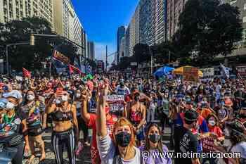Coronavirus.- Movilizaciones en todo Brasil contra el Gobierno de Bolsonaro por su gestión de la pandemia - www.notimerica.com