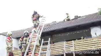 Feuerwehreinsatz in Bruckmühl: Dachstuhl von Wohnung in Brand - Oberbayerisches Volksblatt