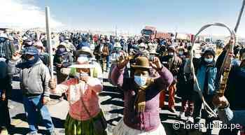 Puno acudió al Poder Judicial por informe sobre límites territoriales con Moquegua - La República Perú