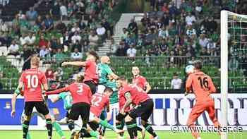 Werder mit Remis gut bedient - Dresden siegt im Aufsteigerduell