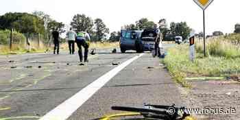 NRW: Zwei Tote bei schwerem Verkehrsunfall in Hamminkeln - FOCUS Online