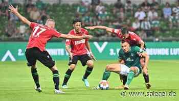 2. Bundesliga: Werder Bremen erzittert sich Remis gegen Hannover 96