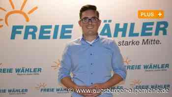 Nun auch offiziell: Freie Wähler schicken Manuel Fink in den Wahlkampf - Augsburger Allgemeine