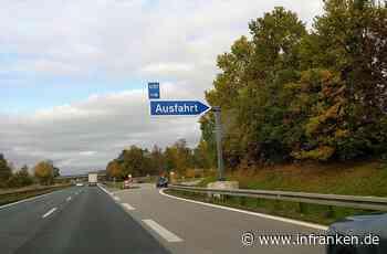 A3 zwischen Höchstadt-Nord und Schlüsselfeld teilweise nicht befahrbar - Sperrung