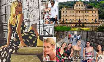 Princess Diana's niece Lady Kitty Spencer weds billionaire fashion tycoon Michael Lewis in Italy