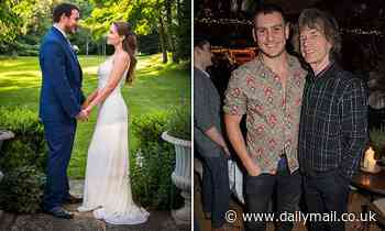 TALK OF THE TOWN: Mick Jagger's son Gabriel ties the knot with Anouk Winzenried
