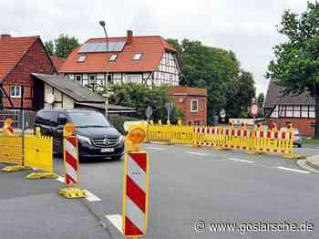 Einschränkungen für die Dauer von rund zwei Wochen - Liebenburg - Goslarsche Zeitung