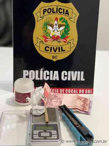 Polícia Civil prende jovem por tráfico de drogas em Cocal do Sul - Engeplus