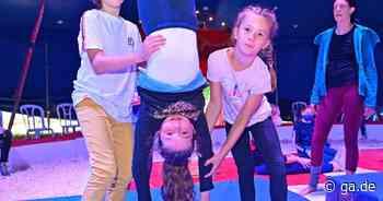 Workshop mit dem Circus Aladin: Junge Artisten in Alfter wagen den Schritt in die Manege - General-Anzeiger Bonn