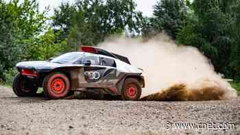 Audi RS Q E-Tron is a Dakar-bound, electrified off-roader     - Roadshow