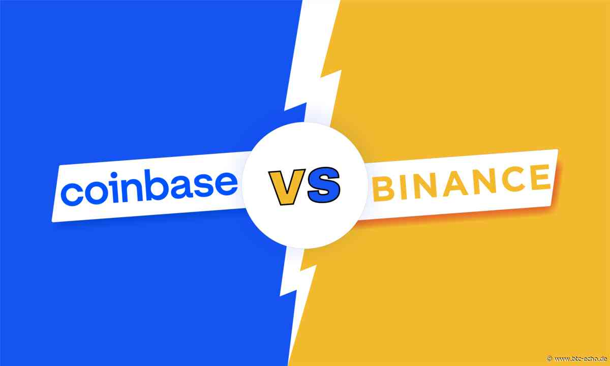 Coinbase vs. Binance: Wer macht das Rennen? | BTC-ECHO - BTC-ECHO