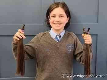 Wigan schoolboy's haircut helps dual noble causes - Wigan Today