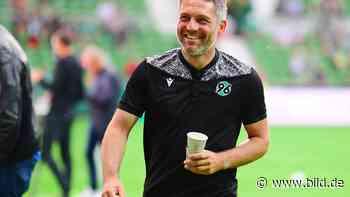 Hannover 96: Trainer Jan Zimmermann war mit seinem Debüt als Profi-Trainer zufrieden - BILD