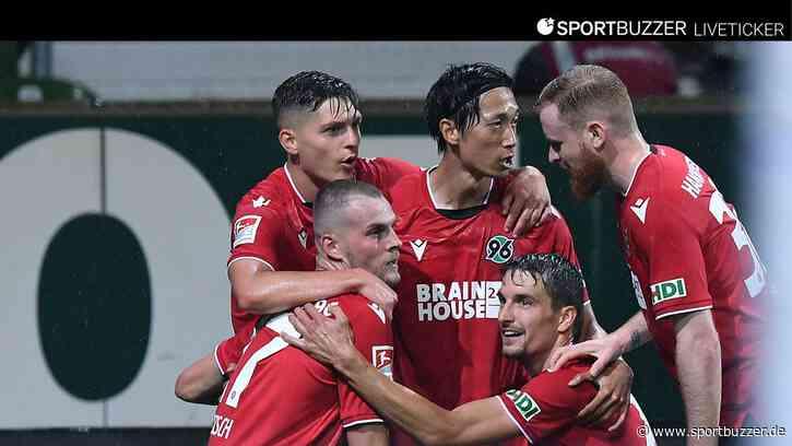 Liveticker zum Nachlesen: Hannover 96 belohnt sich nicht für couragierten Auftritt in Bremen - Sportbuzzer
