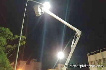 Piden arreglar luminarias en el barrio La Trinidad - El Marplatense
