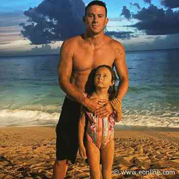 """Channing Tatum Shares Sweet New Photo of Daughter Everly's Face: """"Missing This Little Light"""" - E! NEWS"""