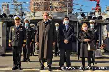 Alemania dona equipos para el buque General Artigas de la Armada de Uruguay - Noticias Infodefensa América - Infodefensa.com