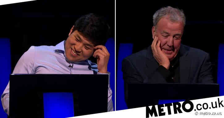 Jeremy Clarkson flummoxed as WWTBAM? contestant clueless on first question walks away with staggering cash prize