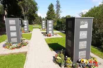 Zentralfriedhof Schwarzenberg: Kolumbarium kein Exot mehr - Freie Presse
