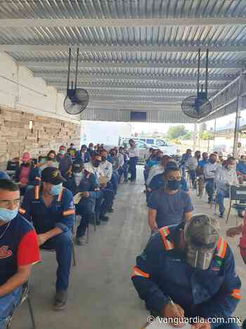 Son 80 empresas de Monclova las favorecidas con la Ruta de Vacunación Empresarial - Vanguardia MX