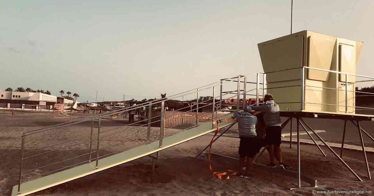 Fuerteventura.- Puerto del Rosario realiza una importante apuesta de mejora en la dotación de infraestructuras y equipamiento en sus playas - Fuerteventura Digital