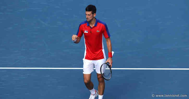 Olympia: Novak Djokovic hochkonzentriert, hochmotiviert, hochdekoriert - tennisnet.com
