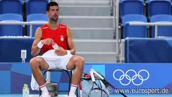 Olympia 2021: Novak Djokovic und Daniil Medvedev fordern spätere Spielzeiten wegen extremen Wetters - Eurosport DE